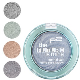 010 shadowy metal, 020 spacy turquoise, 030 virtually bronze und 040 supernaturally purple.
