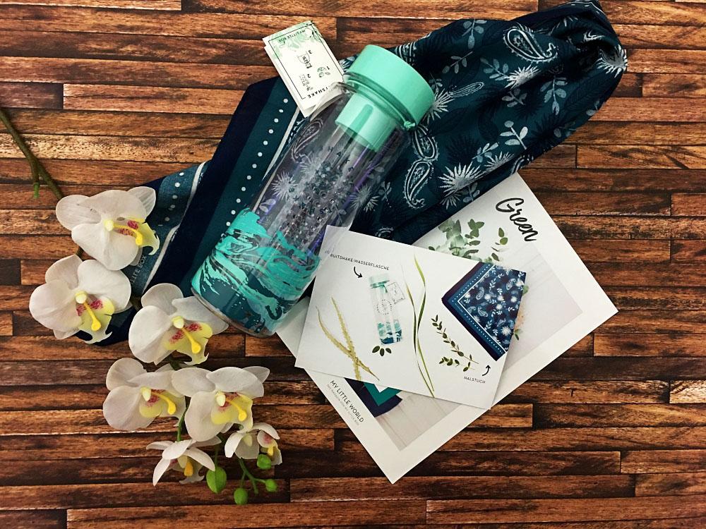 My little Box April 2017 - Trinkflasche für infused Water & Halstuch