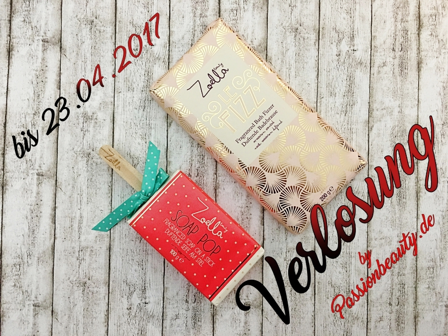 Verlosung Zoella Beauty - Le Fizz & Soap Pop