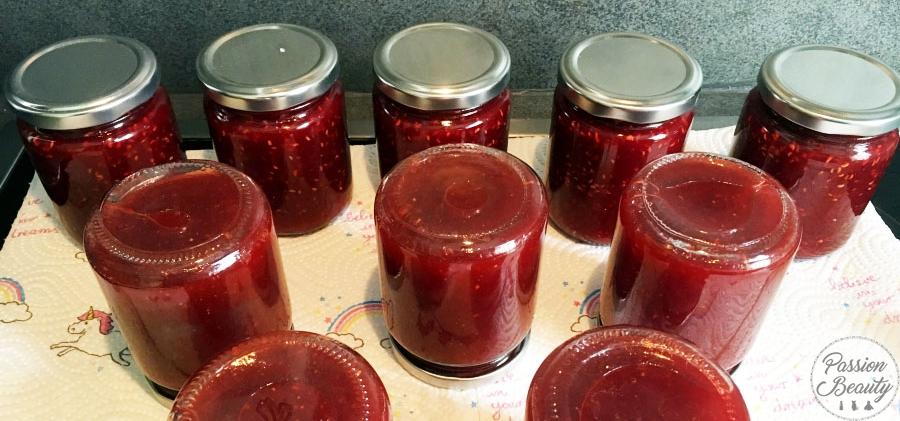 Die fertige Marmelade.
